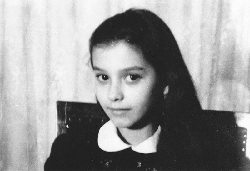 Georgiana Rosca at age 6