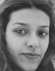Georgiana Rosca as a young woman