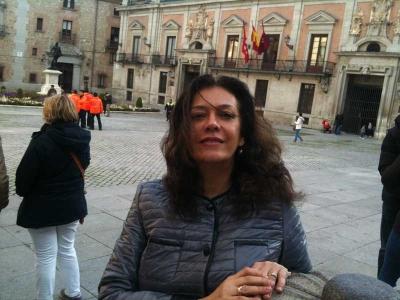 Georgiana Rosca during sabbatical in Madrid