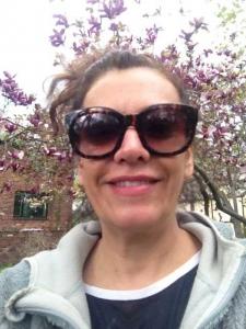 Georgiana Rosca enjoying spring
