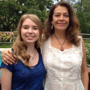 Georgiana Rosca with piano student Susanne Boss