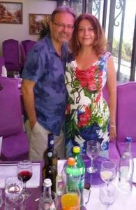 Georgiana Rosca with violinist/violist Cristian Ifrim