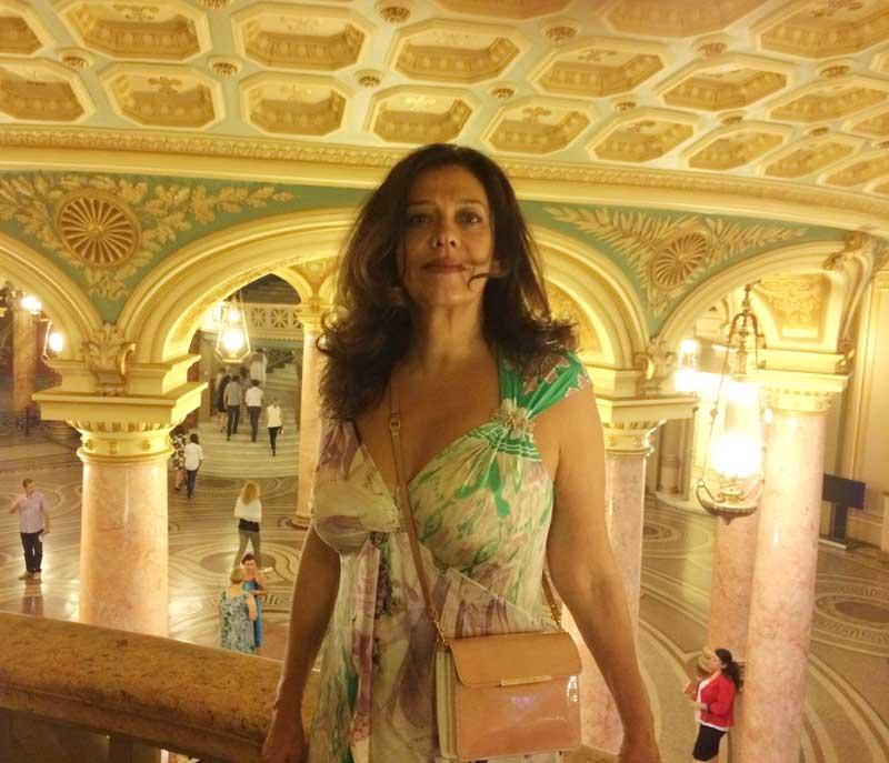 Georgiana Rosca at the Romanian Athenaeum