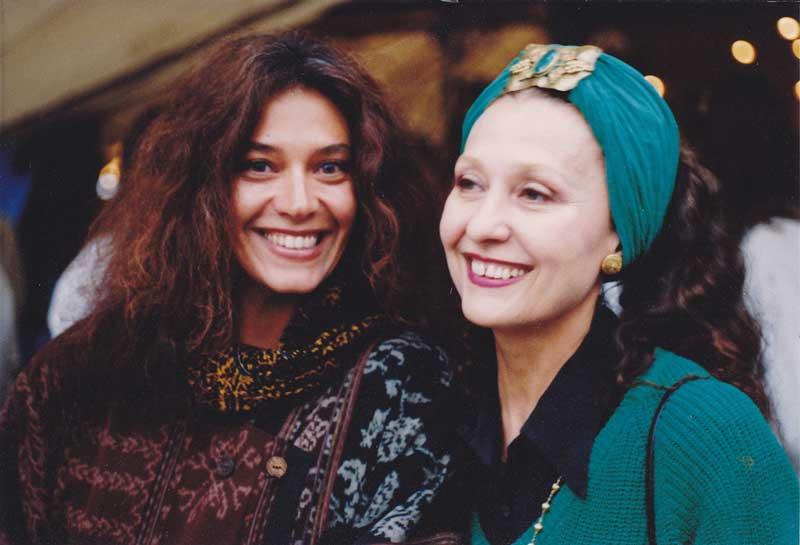 Georgiana Rosca with Angela Foster