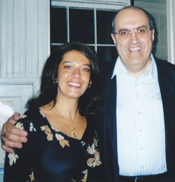 Georgiana Rosca with pianist Dan Grigore