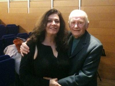 Georgiana Rosca with Dalton Baldwin