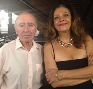 Georgiana Rosca with Varujan Cozighian